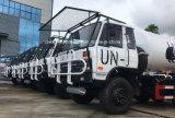 Dongfeng 6X6 с дороги 10 нечистоты тонн тележки всасывающего бака для ООН