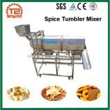 Snacks e fritas Spice Misturador basculante