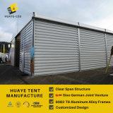 Сталь обшивает панелями шатер пакгауза алюминиевый для хранения (HAF 25M)
