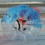 安く豊富な球の膨脹可能な球半分カラーTPU泡サッカーの泡球の泡フットボール装置D5017