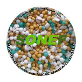 Fertilizante de mezcla a granel de los fertilizantes agrícolas NPK