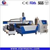 Starmacnc Carbon Steel Signal Laser Quality Fiber Cutting Machine with Laser Ipg Raycus 500W 700W 1000W 2000W