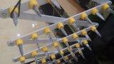 Blocco stradale triangolare di alluminio portatile manuale degli aghi