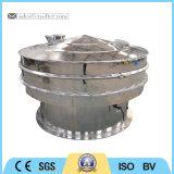 Sifter giratório da peneira da vibração do pó do alimento cheio do aço inoxidável
