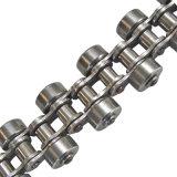Chaîne de roulement latérale de chaîne Chaîne de convoyeur galvanisée à rouleaux latéraux pour aliments