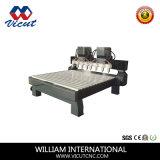 Multi-Köpfe flache Gravierfräsmaschine-Holzbearbeitung CNC-Maschine