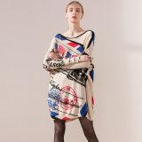 Além da impressão de tamanho de malha Suéter Pulôver Grosso China fabricante OEM