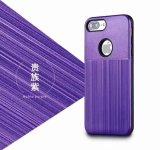 Caja del teléfono móvil de la textura de Lasi la última para el iPhone