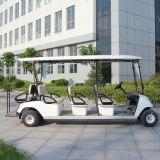 Deskundige Fabrikant 6 van China Kar van het Golf van de Passagier de Elektrische voor Verkoop (DG-C6)