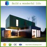 Diseño de lujo de la casa de la cafetería del envase del envío prefabricado