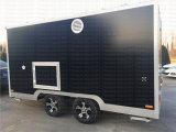 Bestelwagen van het Voedsel van de douane de Mobiele