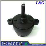 Leistung Tool 20mm D Shaft 4 Position Changeover Rotary Switch