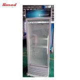 単一のガラスドアの直立したクーラーの表示Refriegratorのショーケース