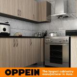 Oppein современных высококачественных U форма меламина деревянный шкаф (OP15-M03)