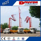 Ce, caminhão concreto montado caminhão da bomba do crescimento do certificado CCC e ISO9001 para a venda