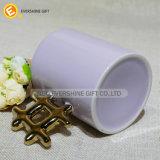 Heet verkoop Ceramische Mok van het Handvat van Chinese Karakters de Gevormde