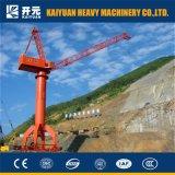 SGSが付いている10トンの高品質の移動式門脈クレーン