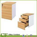 Gabinete de arquivo de madeira do armazenamento do escritório do Sell quente sem rodas