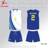 Healong China authentischer Kleidung-Sublimation-Strand-Volleyball Jersey für Verkauf