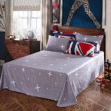 アメリカの標準的な様式の綿の羽毛布団カバーセット