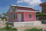 軽い鉄骨構造のプレハブのバンガローの家