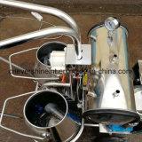 ヤギMilking Machine Vacuum Pump電気Milker Two Barrels