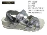 No. 51860 Leather Sandal Stock Shoes delle due di stili signore