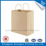 High Quality Brown Paper Kraft Shopping Bag avec Pth