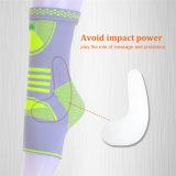Plantar Fasciitisのためのゲルが付いている熱い販売の無水ケイ酸の足首のフィートのOrthosisの足首波カッコ