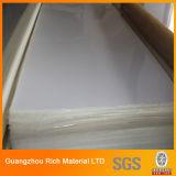Folha acrílica de vidro plástica transparente de /Plexiglass da placa acrílica