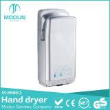 Secador de mão elétrico de alta velocidade de parede de banheiro