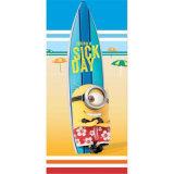 100% хлопок мультфильм дизайн мягкие полотенца на пляже