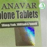 Poudre d'Anavar et tablettes CAS d'Anavar. 53-39-4