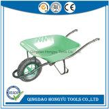 Fazenda de construção espanhol Ferramentas Manuais Wheelbarrow (WB6400C)