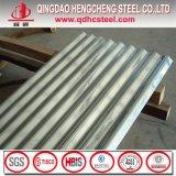 Feuille en acier galvanisée ondulée de toiture de zinc pour le mur
