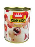 最上質中国からのLycheeの缶詰にされたフルーツ