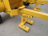 Hoja de madera autoalimentadora del registro de la ramificación que saltara la desfibradora