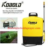 Спрейер рюкзака Kobold белой управляемый батареей