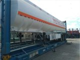 Tri Wellen-Kohlenstoffstahl 33000 Liter Heizöl-Tanker-halb Schlussteil-