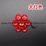 Rhinestone Fix фабрики DMC Китая горячий для платья (ранг SS20 Peridot/3A)