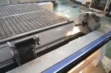 macchina di legno del router di CNC 4X8 con l'unità rotativa per i materiali rotondi
