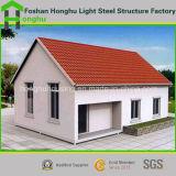 Villa prefabbricata dell'acciaio dell'indicatore luminoso della Camera della Camera prefabbricata moderna