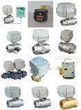"""2つの方法3/4 """"セリウムによってモーターを備えられるステンレス鋼弁NSFの電気フロー制御水弁(T20-S2-C)"""