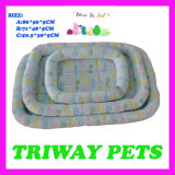 개와 고양이 (WY161047-1A/C)를 위한 싼 부드러움과 안락 산호 우단 침대