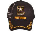 良質のカスタムロゴの100%年の綿の野球帽