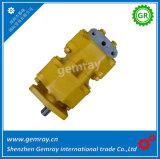 Komatsu 07400-30200 Pompe hydraulique à engrenages tandem pour bulldozer D50A/P-16