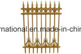 Rete fissa modellata del giardino del ferro/rete fissa del cancello (il nero)