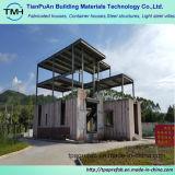 중국에서 가벼운 강철 프레임 조립식 홈
