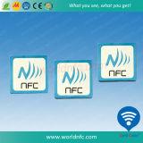 Programmabel Ntag 213 25mm NFC adhesivo con adhesivo 3M