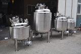 De sanitaire Tank van het Drukvat van het Roestvrij staal Lage
